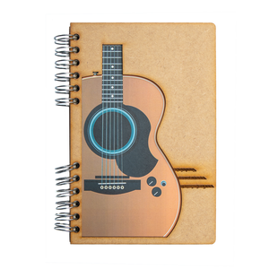 Sustainable journal - Recycled paper - Guitar