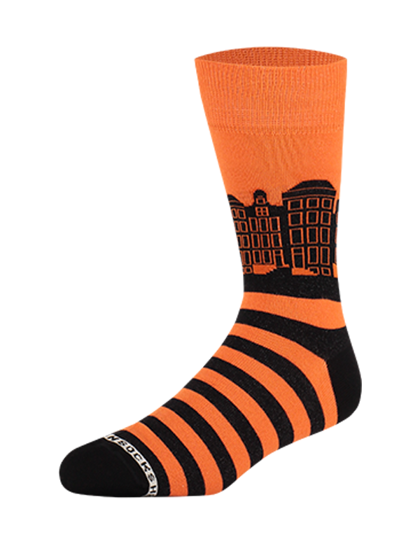 Sock Canals Orange