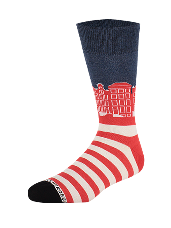 Sock Canals Red