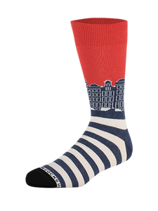 Sock Canals Blue