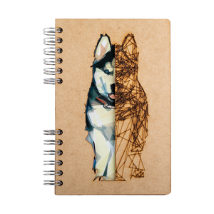 Sustainable journal - Recycled paper - Husky