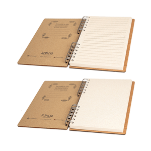 Sustainable journal - Recycled paper - Panda
