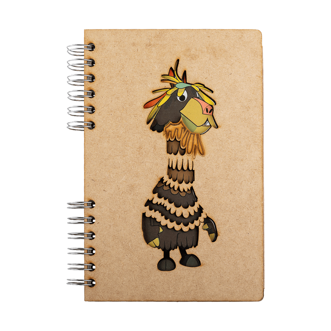 Sustainable journal - Recycled paper - Chico Lama