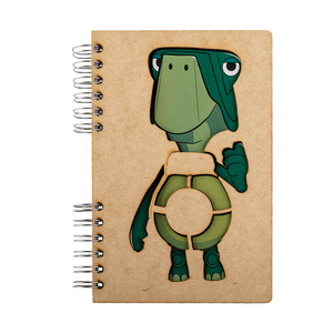 Sustainable journal - Recycled paper - Fable Turtle