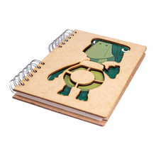 Load image into Gallery viewer, Sustainable journal - Recycled paper - Fable Turtle