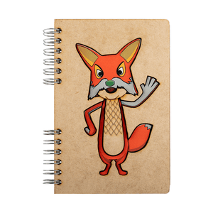 Sustainable journal - Recycled paper - Fable Fox