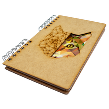 Load image into Gallery viewer, Sustainable 2021-2022 school agenda - recycled paper - Cat
