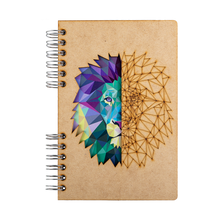 Load image into Gallery viewer, Sustainable journal - Recycled paper - Lion