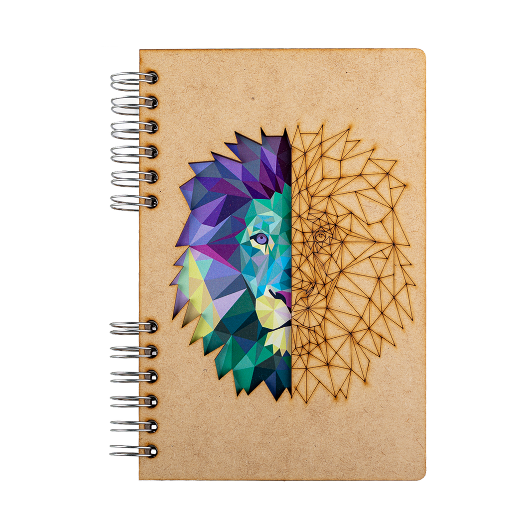 Sustainable journal - Recycled paper - Lion