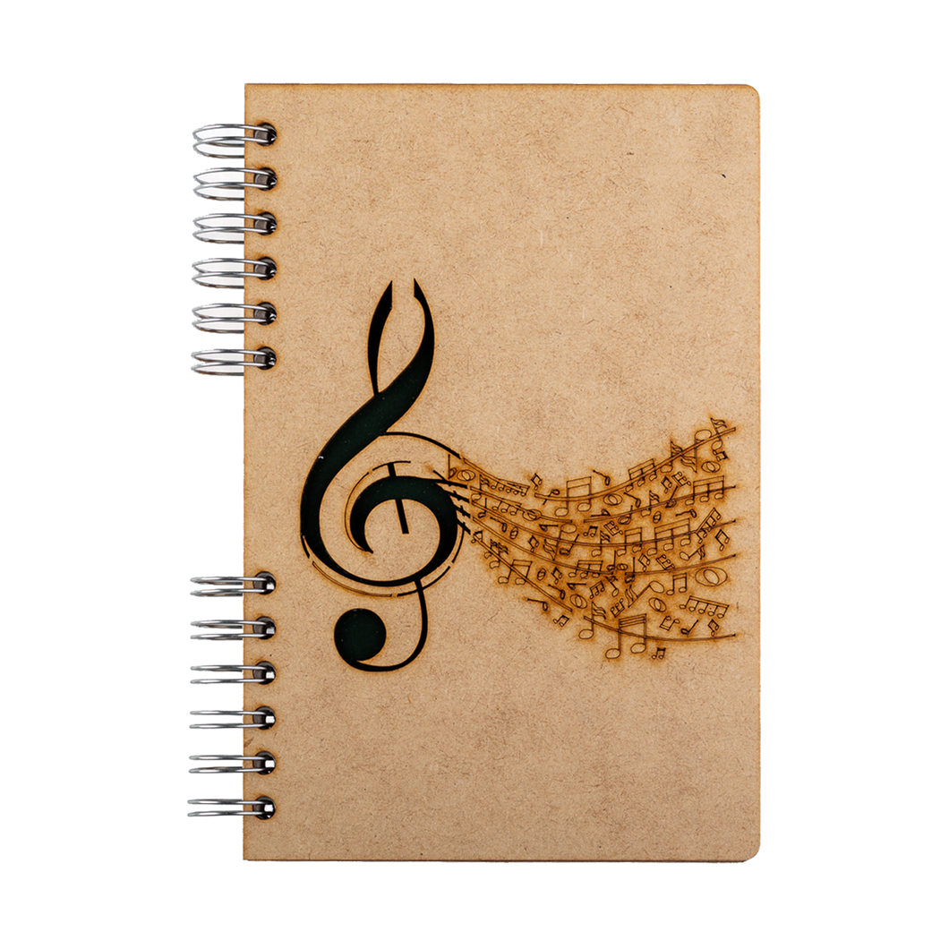 Sustainable 2021 agenda - recycled paper - Music