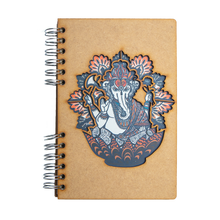 Load image into Gallery viewer, Sustainable journal - Recycled paper - Ganesha