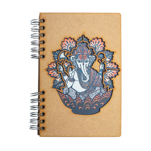 Sustainable journal - Recycled paper - Ganesha