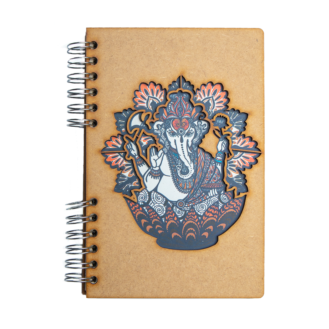 Sustainable 2021 agenda - recycled paper - Ganesha