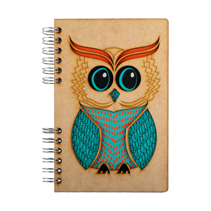Sustainable 2021 agenda - recycled paper - Wise Owl