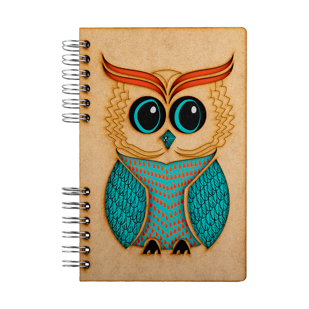 Sustainable journal - Recycled paper - Owl