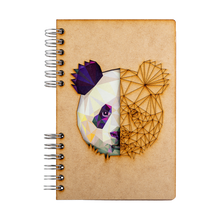 Load image into Gallery viewer, Sustainable journal - Recycled paper - Panda