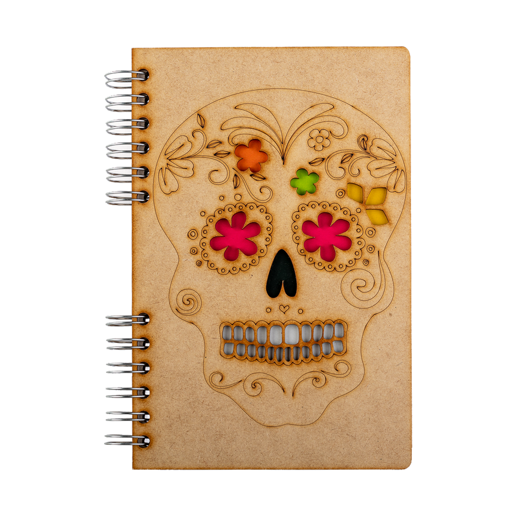 Sustainable journal - Recycled paper - Skull