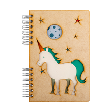 Load image into Gallery viewer, Sustainable journal - Recycled paper - Unicorn