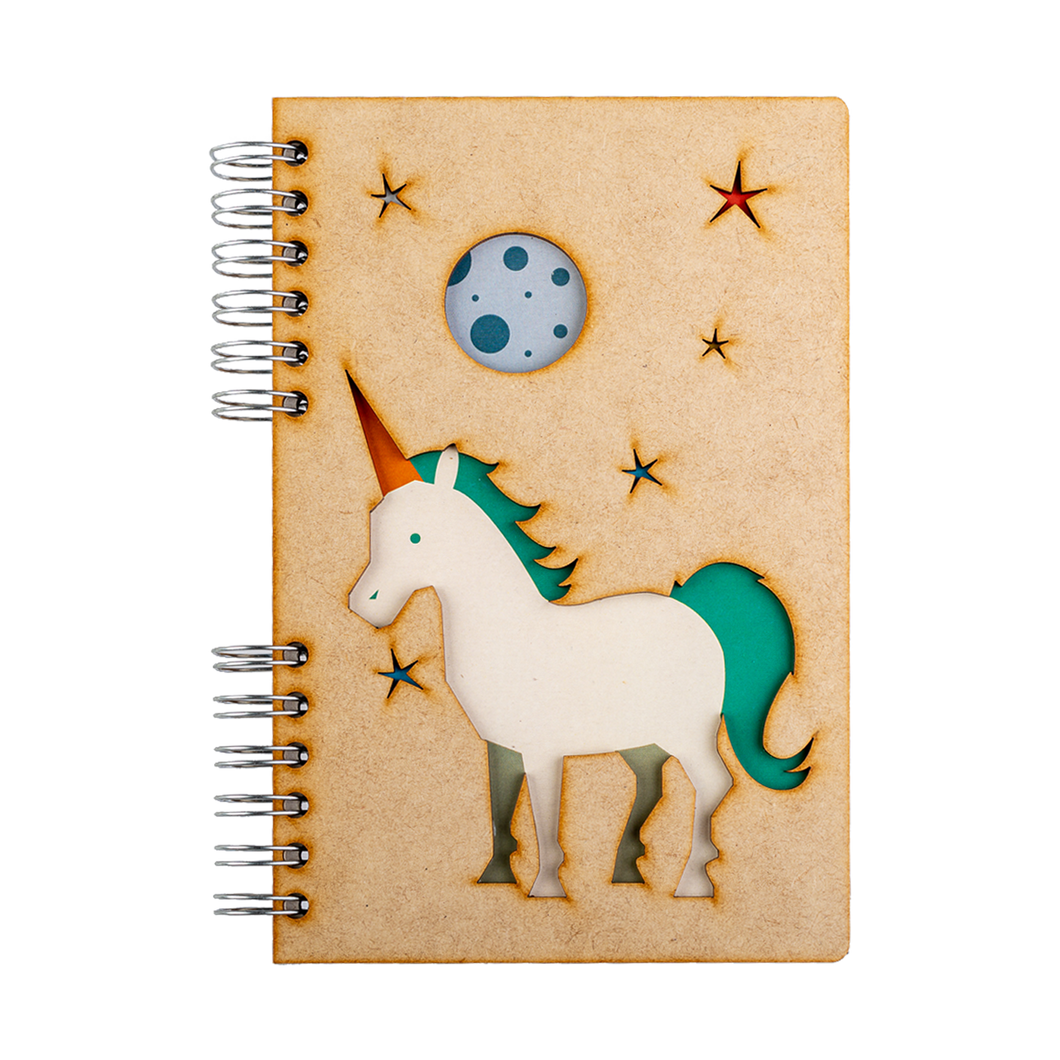 Sustainable journal - Recycled paper - Unicorn