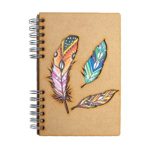 Sustainable 2021 agenda - recycled paper - Feathers