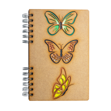 Load image into Gallery viewer, Sustainable journal - Recycled paper - Butterflies
