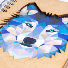 Load image into Gallery viewer, Sustainable journal - Recycled paper - Wolf