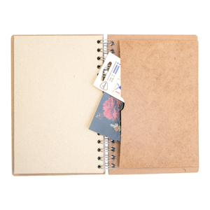 Sustainable journal - Recipebook - Recycled paper - Ingredients