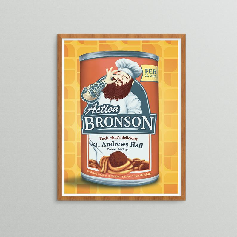 Action Bronson X Soup Can