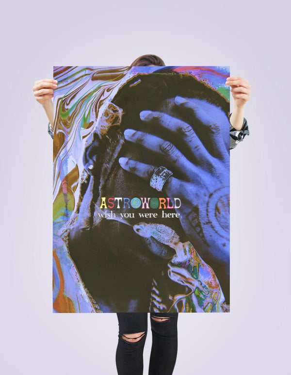 Travis Scott - Astroworld Tye-Dye