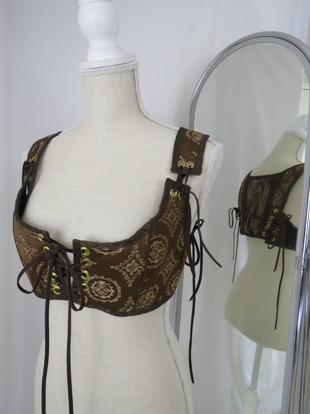 MD Brown Short Bodice