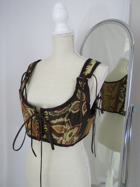 XXL Brown Short Bodice