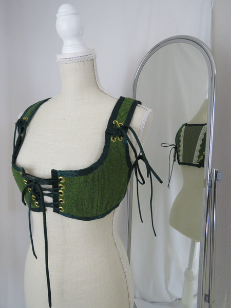 SM Green Short Bodice