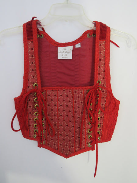 Red Bodice- Small