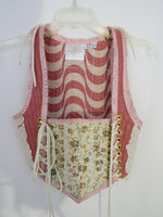 Dusty Rose Bodice- Small