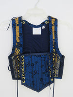Navy Bodice- Small