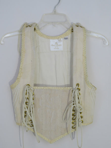 Cream Bodice- Small