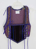 Purple Bodice- Medium