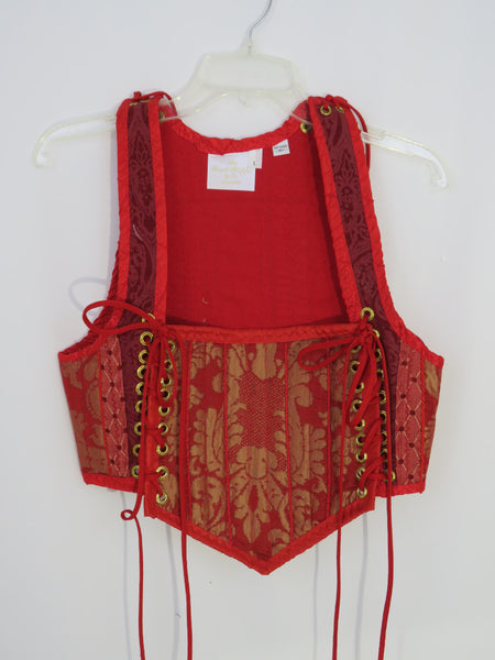 Red Bodice- Large