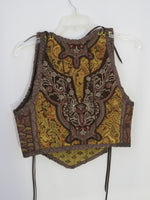 Brown Bodice- Large