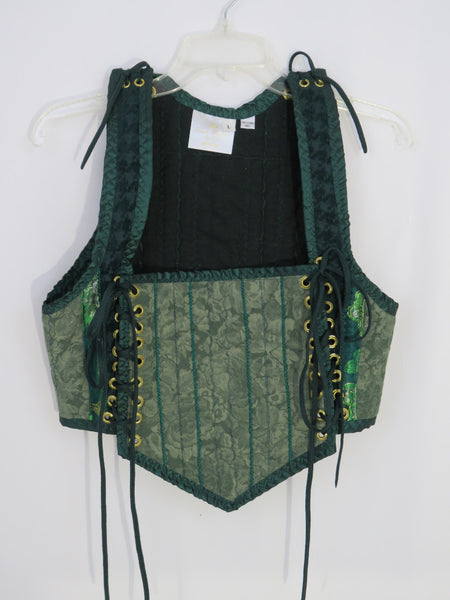 Green Bodice- Large