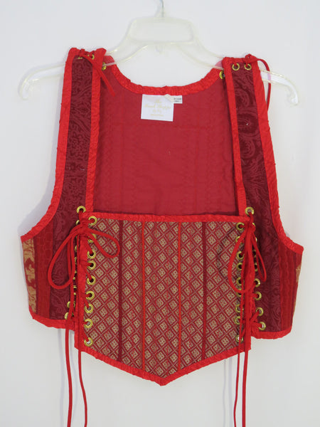 Red Bodice- XLarge