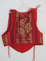 Red Bodice- XXLarge