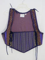 Purple Bodice- XXLarge