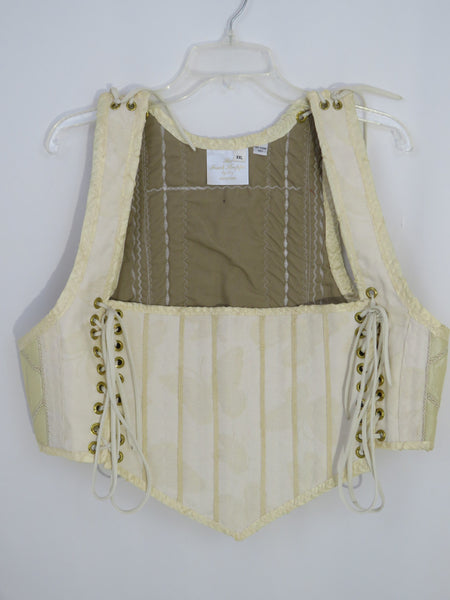 Cream Bodice- XXLarge