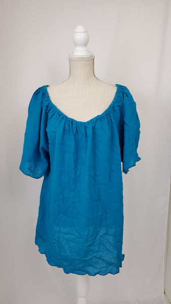 Light Teal Emily Blouse