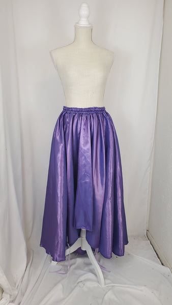 Lilac High-Low Convertible Bustle Skirt