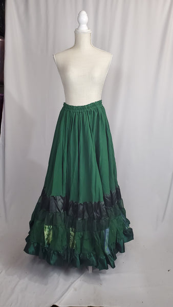 Green Elizabeth Skirt