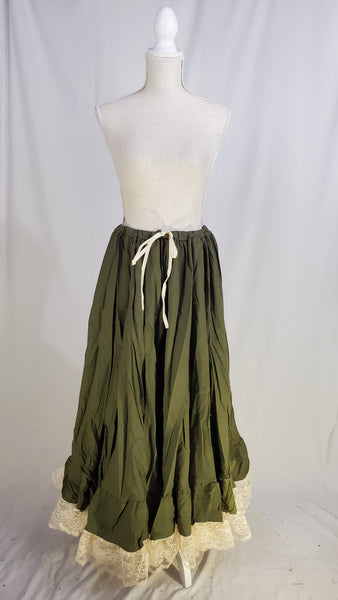 Olive Lady Anne Petticoat