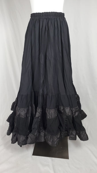 Black Elizabeth Skirt