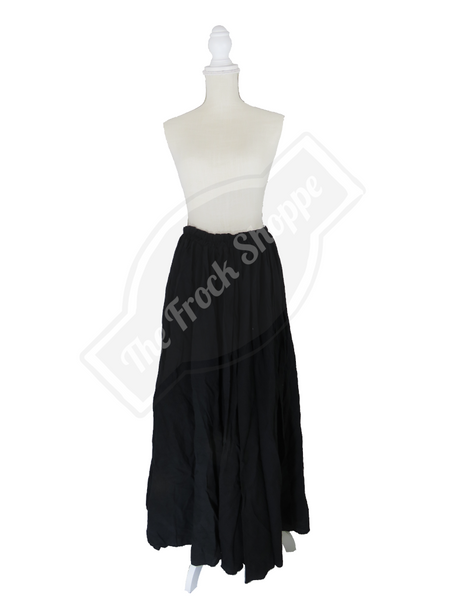 Black Maid Marion Skirt